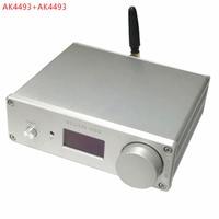 dual ak4493*2 dac bluetooth 5.0 Support optical coaxial input audio decoder 192khz DSD RCA output