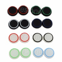 1 Set 2pc Thumbstick Cap Cover Analog 360 Controller Thumb Stick Grip For PS4 XBOX ONE Replacement Parts & Accessories