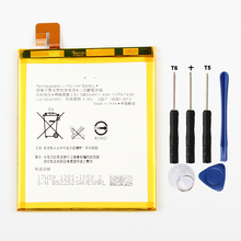 Original High Capacity Phone Battery For Sony Xperia T2 Ultra D5303 D5306 D5322 XM50t XM50h AGPB012-A001 3000mAh lcd display touch screen digitizer assembly for sony xperia t2 ultra d5303 d5306 xm50t xm50h d5322 front outer glass white black