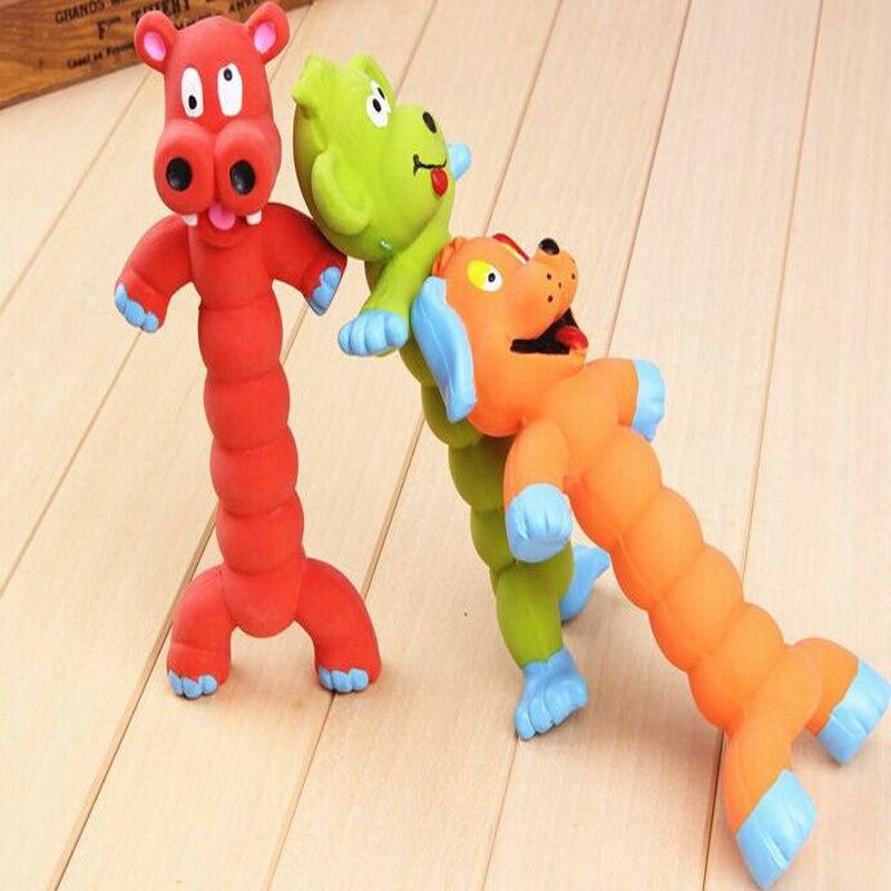 Eco-Friendly Creative Cartoon Animal Shape Sound Pets Toys Dog Squeaky Toy