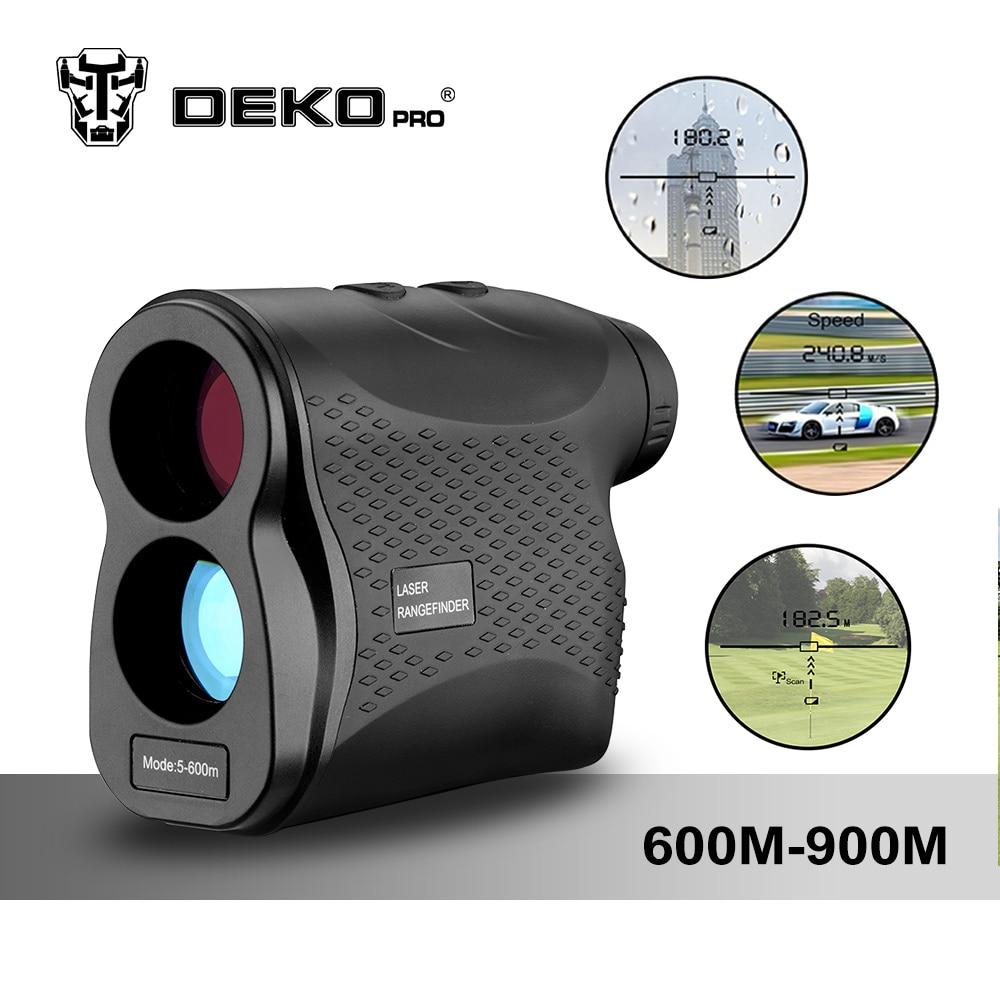Dekopro лазерный дальномер Гольф Охота измерения телескоп цифровой Монокуляр Лазерный дальномер Скорость тестер лазерный дальномер