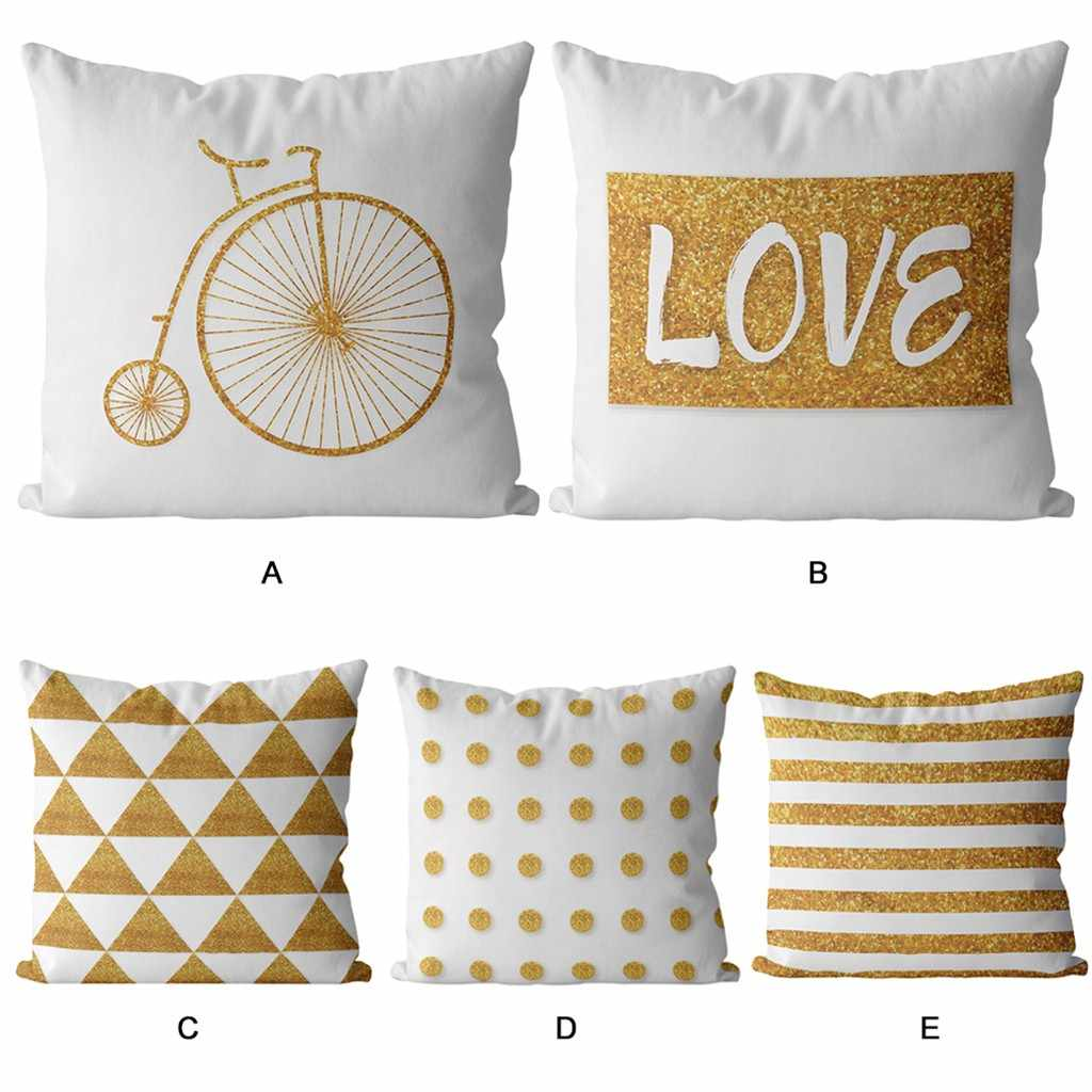 2019 Short Plush Home Decor Creative Cute Pillow Cover Kussenhoes Housse de Coussin Pillowcases Cojine Pillow Case Cushion Cover