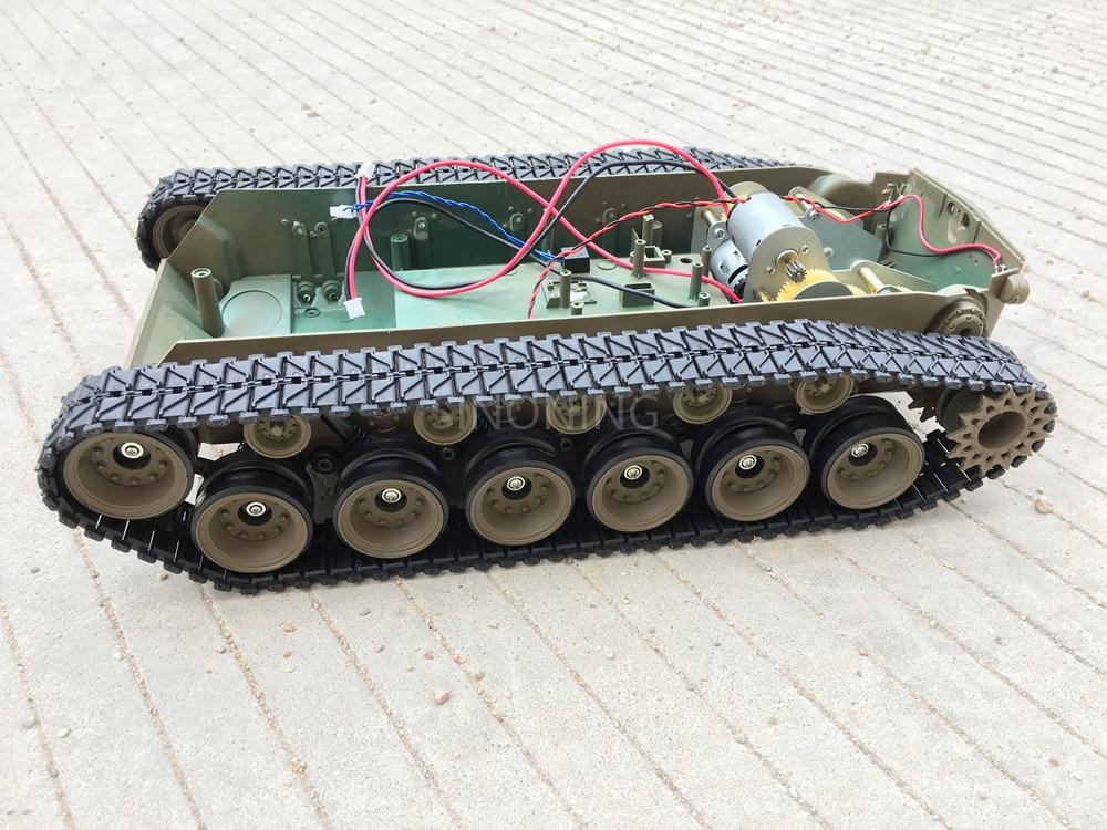 Supper big Robot Tank Chassis Crawler Smart robot platform henglong 3838 large damping suspension SN2300 цена