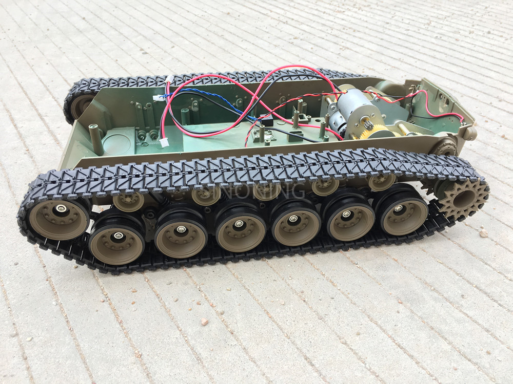 Supper big Robot Tank Chassis Crawler Smart robot platform henglong 3838 large damping suspension SN2300 все цены