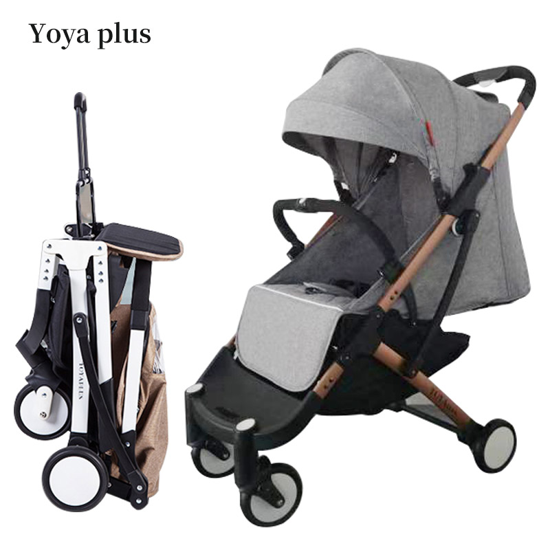 8 gifts! yoyaplus 5.8kg light portable  folding bb stroller can sit can lie  Folding Baby Umbrella  baby stroller free gifts