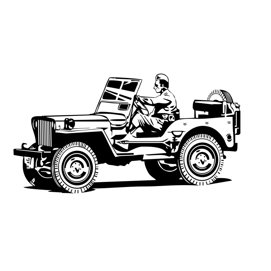 940 Gambar Mobil Jeep Kartun Gratis Gambar Mobil
