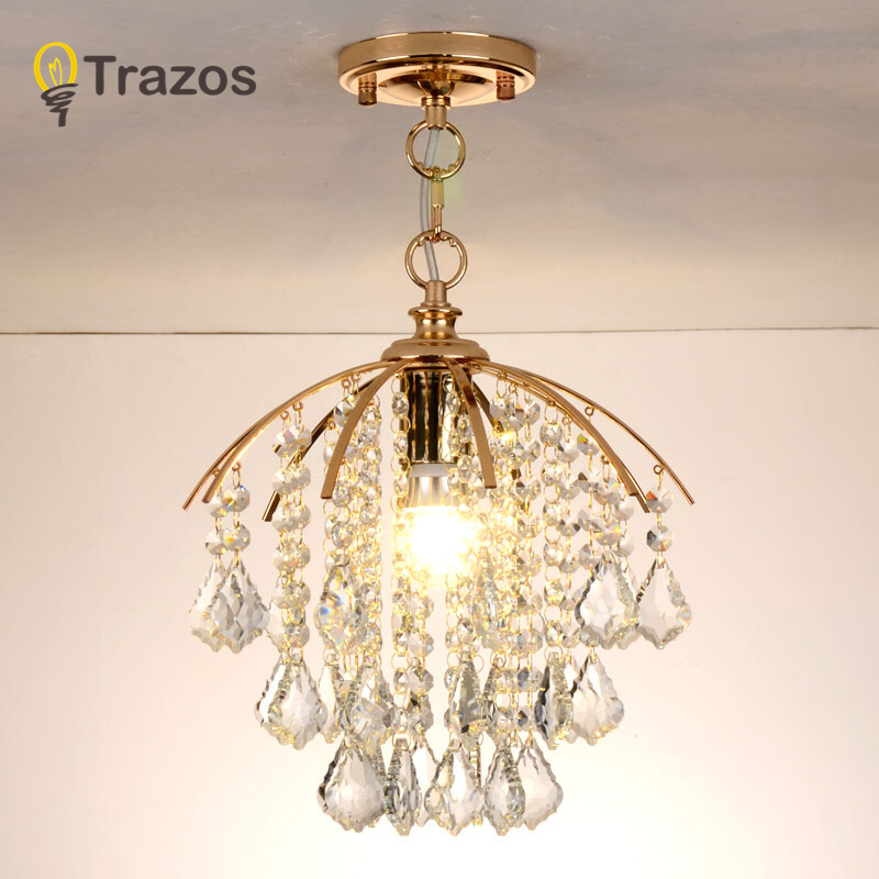 Modern style living room bedroom minimalist restaurant pendant light tradition Golden decoration crystal ball pendant lamp