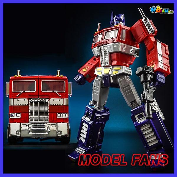 Modèle ventilateurs KBB Transformation OP Commander MP10V rouge noir blanc alliage métal avec sac à dos figurine Robot jouets