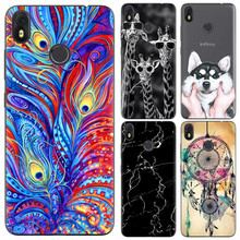 Phone Case For Infinix Hot S3 X573 Cute Cartoon High Quality Painted TPU Soft Case Silicone Cover For Infinix Hot S3 Phone Shell(China)
