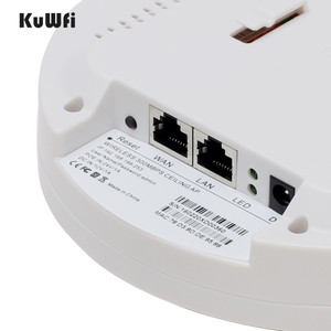 Image 4 - Kuwfi 300Mbps Indoor Ceiling Mount Wireless Access Point Controller System Wireless Router Long Coverage For Hotel/School