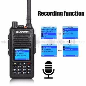 Image 3 - Портативная рация baofeng dmr DM 1702 GPS с голосовой записью vhf uhf двухсторонняя радиосвязь 136 174 и 400 470 МГц