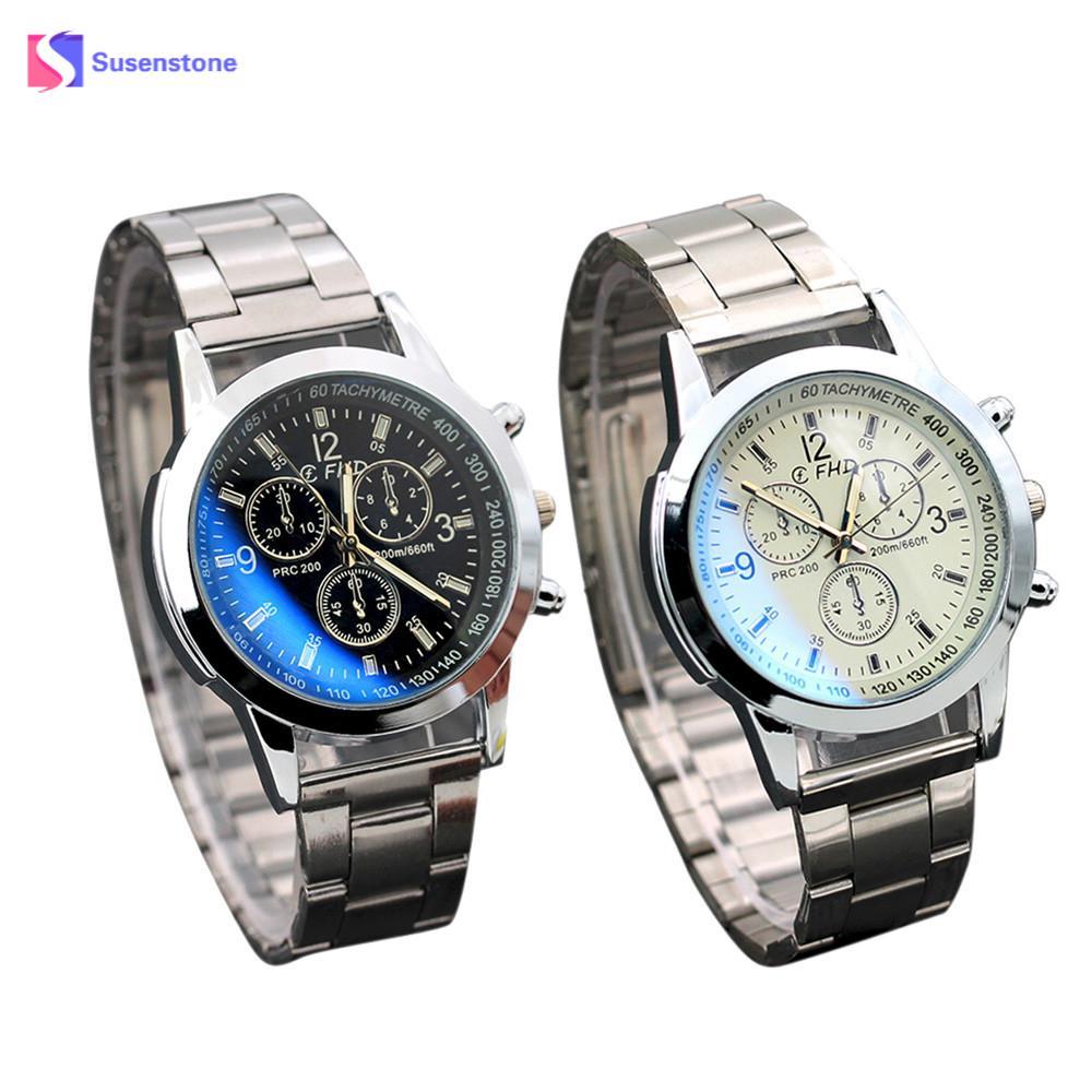 Men Stainless Steel Bracelet Mens Sport Watches Man's Casual Quartz Wristwatches Male Clock Montres Hommes