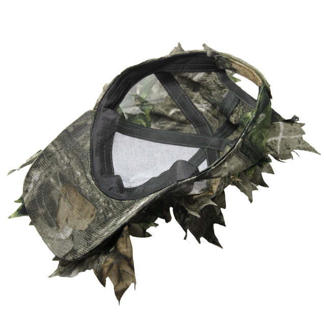 Forest Rambo 3D Camo Hunting Cap