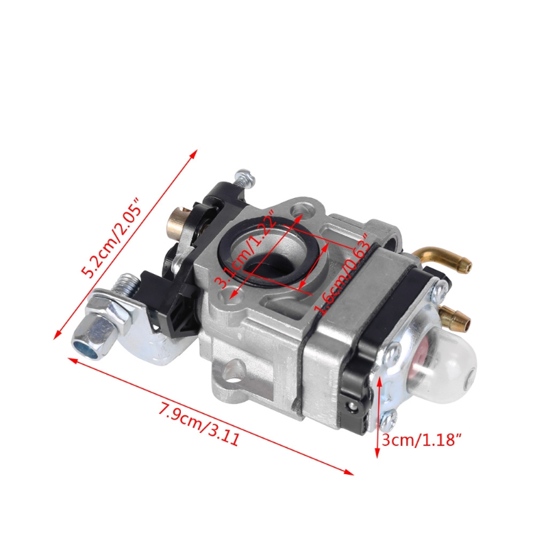 Image 5 - Free delivery Carburetor 10mm Carb w/ Gasket For Echo SRM 260S 261S 261SB PPT PAS 260 261 BC4401DW Trimmer New-in Carburetors from Automobiles & Motorcycles