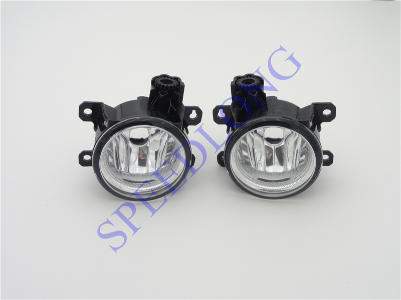2 Pcs/Pair RH and LH Clear Lens Car Front Bumper Driving Fog Light Lamps for HONDA FIT 2015-2016 fit for 15 17 gmc yukon denali front fog light lamp chrome bezel lh rh h3 12v 20w clear lens