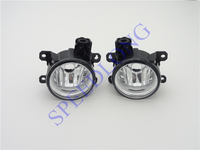 2 Pcs/Pair RH and LH Clear Lens Car Front Bumper Driving Fog Light Lamps for HONDA FIT 2015 2016