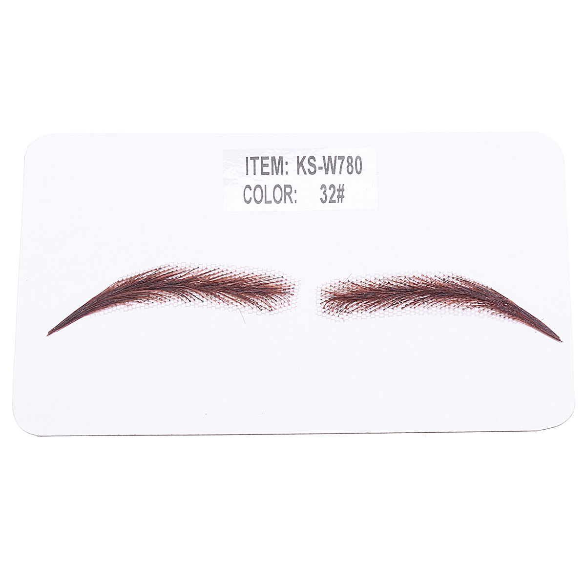 Image 3 - Handmade Human Hair False Eyebrows Lace Base For Women For Party Wedding Cosplay Star Fake Eyebrow Synthetic Eyebrows-in Eyebrow Enhancers from Beauty & Health