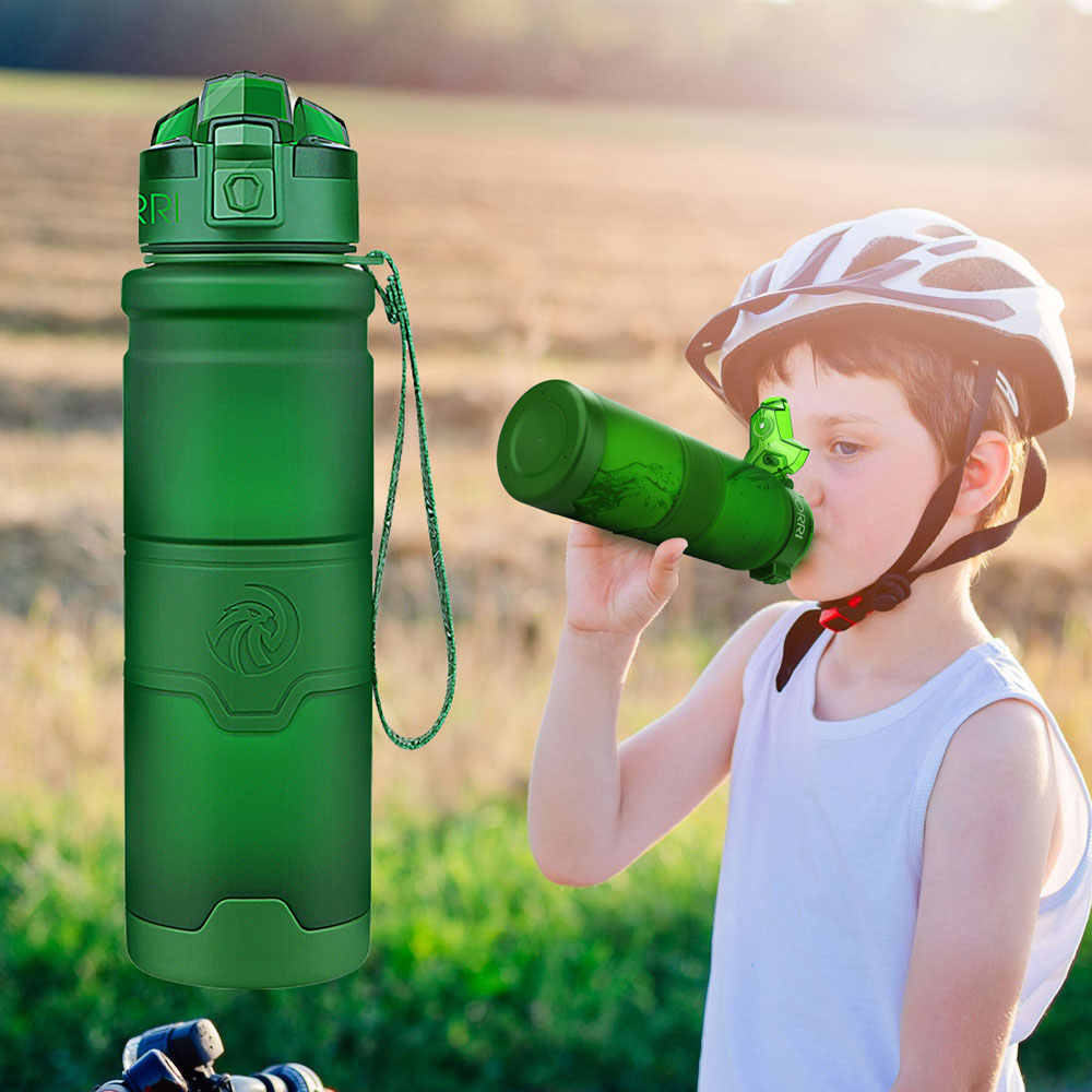 500ml/700ml/1000ml Shaker Water Bottle Sports Gym Cycling Tourism And Camping For Student CE / EU Drink Bottles Botella De Agua
