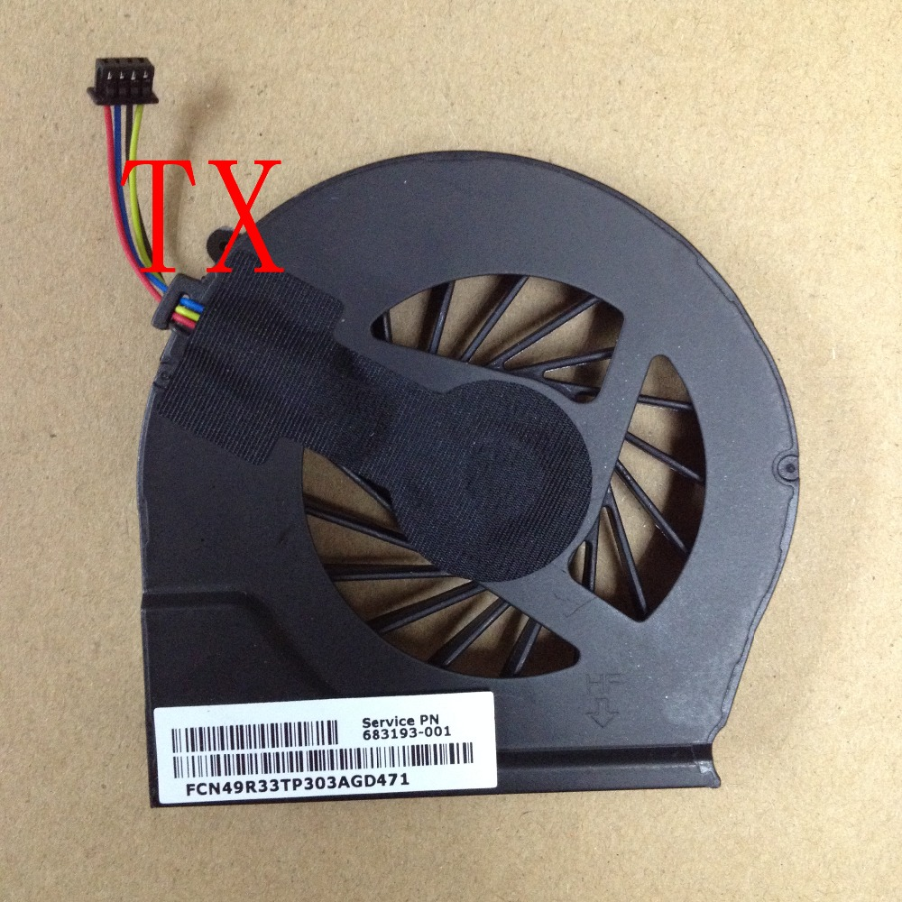 Laptops Computer  CPU Cooling Fan Fit For HP Pavilion G6-2000 G6-2100 G6-2200 G4-2000 Series Laptops 683193-001 HA F1014 P72