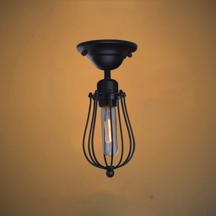 Discount Ceiling Light Fixtures: Retro Loft Style Edison Industrial Vintage Ceiling Lamp
