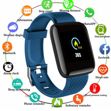 2019 1.3 Cal smart Watch mężczyźni IP67 wodoodporna tętno inteligentny zegarek do monitorowania kobiety dla Android IOS PK Apple Watch Miband 4 fitbit(China)