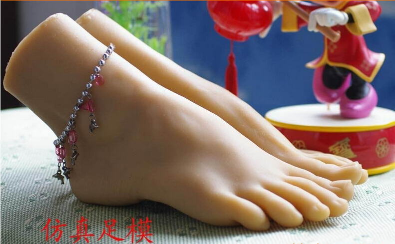 Silicone foot model real font b doll b font feet silicone feet font b sex b