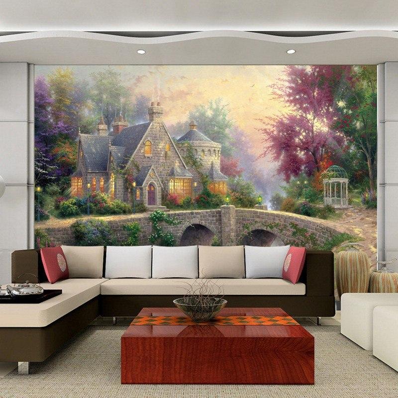 Kasteel muur behang koop goedkope kasteel muur behang loten van chinese kasteel muur behang - Muur kamer kind ...
