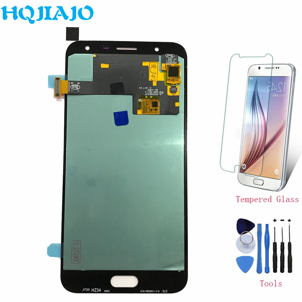 AMOLED LCDs Screen For Samsung J720 J7 Duo LCD Display Touch Screen Digitizer For Samsung Galaxy J7 Duo J720F SM-J720F AssemblyAMOLED LCDs Screen For Samsung J720 J7 Duo LCD Display Touch Screen Digitizer For Samsung Galaxy J7 Duo J720F SM-J720F Assembly