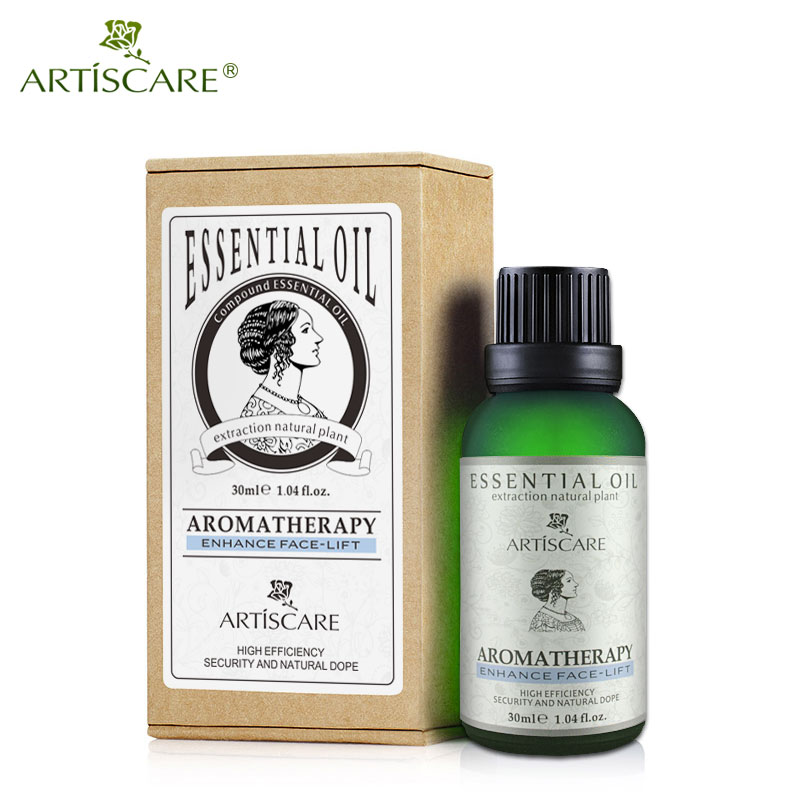 ARTISCARE 30ml Natural Face Lift Essential Oils For Massager To Face Fat Burner And Smooth Skin Lifting Face Cream Massage Oils