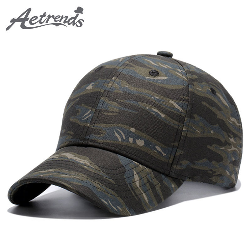 [AETRENDS] Summer   baseball     cap   camouflage green   cap   men women outdoor sport game hip hop hat snapback hats for youth Z-5279