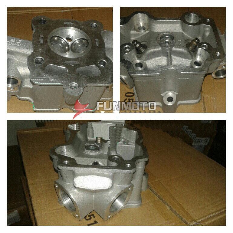 DOUBLE CYLINDER HEAD FOR ZONGSHEN 150 WATER COOLING ENGIEN PARTS ...