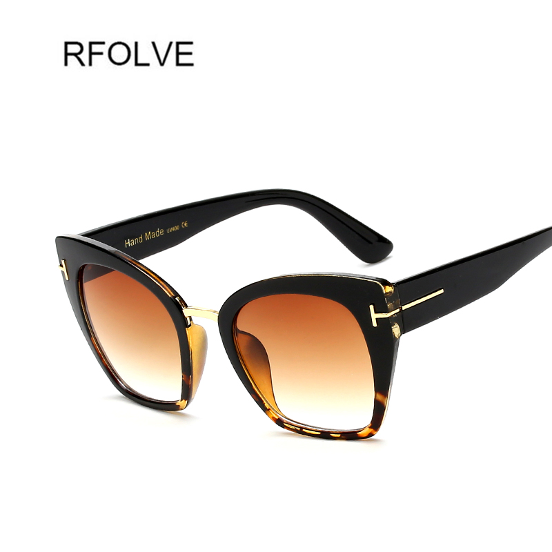 RFOLVE New Vintage Women Sunglasses High Quality Brand Design Square Sunglasses Classic Style Shades Rivets Eyewear R8121