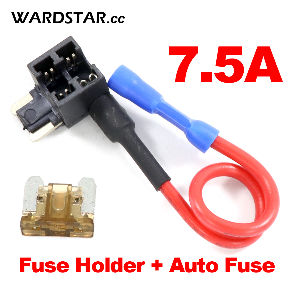 Micro Blade Fuse Low Profile Mini Fuse Holder Auto Car Aps For Fast Quick And Auto Fuse 7 5a 32v