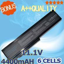 Bateria do Portátil para Asus 4400 MAH N61 N61j N61d N61v N61vg N61ja N61jv N53 N53s N53sv A32 M50 M50s A32-m50 A32-a32-n61 X64 A33-m50