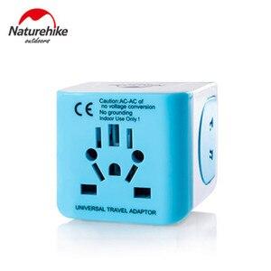 Image 1 - Naturehike Открытый Инструменты Трансвертер разъем преобразования адаптер универсальная розетка для путешествий USB разъем для США, Великобритании, ЕС