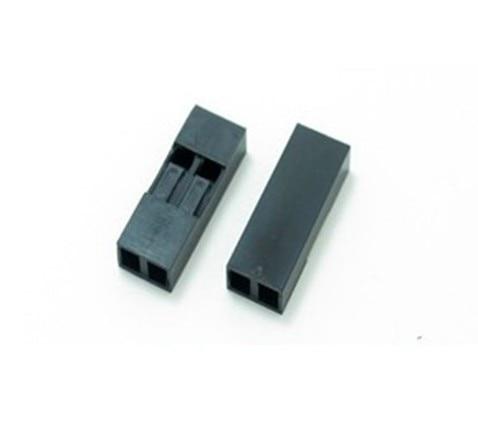 Aliexpress.com : Buy 100PCS/Lot 2P 2.54mm Single Row Plastic Dupont ...