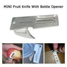 Мини EDC Карманный Фруктовый нож с открывалкой для бутылок складной нож для резки фруктов овощерезка кухонное Походное Снаряжение