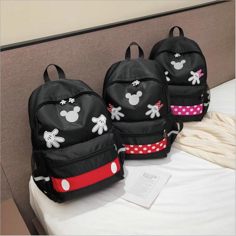 2019 New Kids School Bags For Middle School Children Cartoon Schoolbags Minnie Backpack High Capacity Schoolbags Satchel