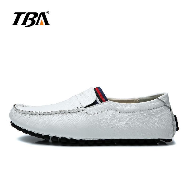 TBA Man Casual Shoes Genuine Leather shoes Fashion footwear for Man