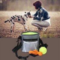 애완 동물 개 훈련 치료 스낵 미끼 개 순종 민첩성 야외 파우치 식품