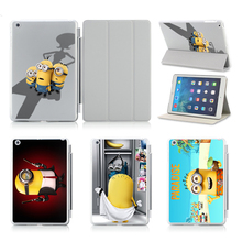 Case For Apple iPad Air 1 2 Print Cartoon Tablet PC 9.7 Inch Covers Flip Stand PC & Leather Case For Ipad 5 6 Air 2 Cases Cover