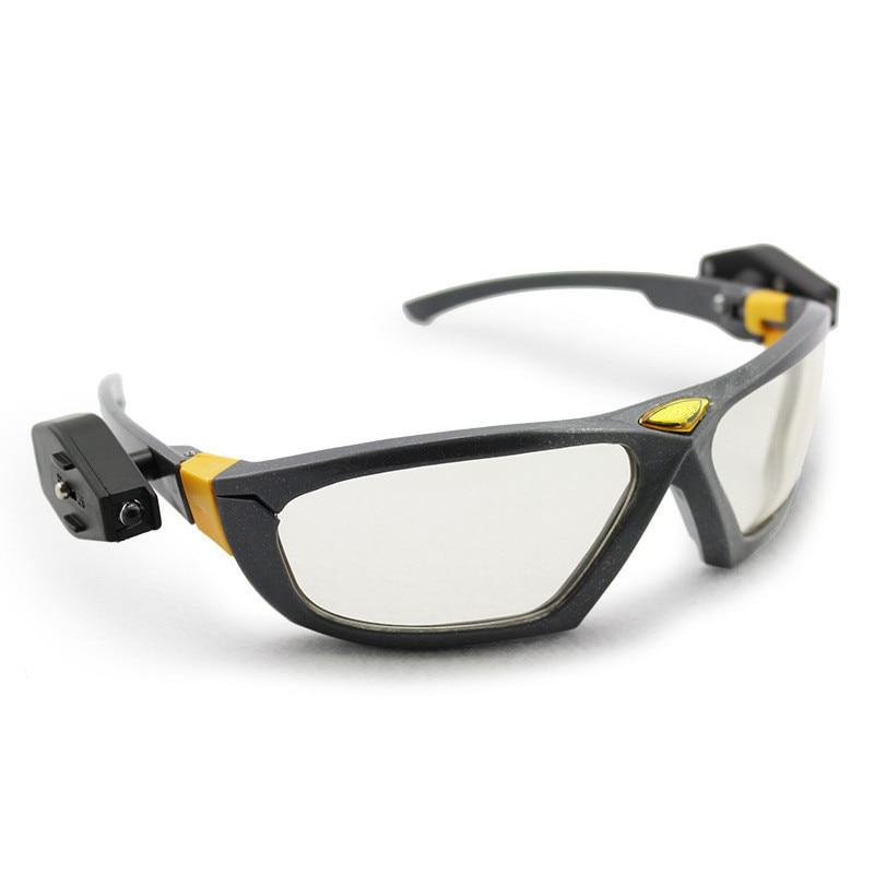 Brilhantes Luzes LED Noite Óculos de Segurança Óculos De Leitura Dos Olhos  para Segurança do Trabalho Industrial Reparação Automóvel Equitação  Esportes Ao ... 121758e8d9