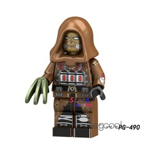 1PCS modell bausteine action-figuren starwars superhelden Scarecrow klassische SDCC DC gerechtigkeit diy spielzeug für kinder geschenk(China)