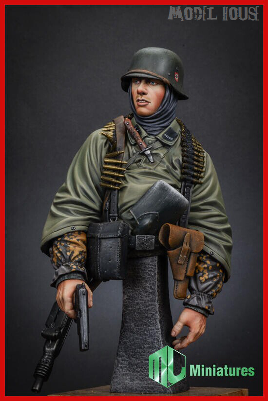 Chariot X-086  German Marines bust 1/35 soldiers