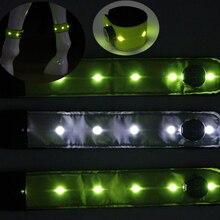 * 32*5,1 CM colorido más nuevo LED caballo Leggings noche Visible montar a caballo de caballo ecuestre suministros