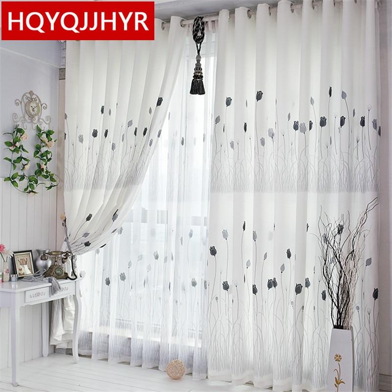 buy modern rustic white printed blackout. Black Bedroom Furniture Sets. Home Design Ideas