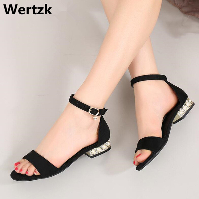 Korean Style 2018 Summer Women Sandals Open Toe Flip Flops Women's Flat Sandles With Low Women Shoes Gladiator Shoes L101