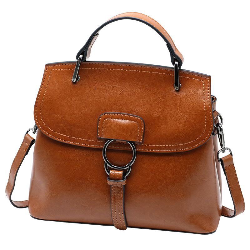 High Quality Women's Genuine Leather Handbags Women Casual Tote Shoulder CrossBody Bags Ladies Fashion Messenger Bags fashion women genuine leather handbags totes bags crossbody women s shoulder bag casual ladies travel messenger bag high quality