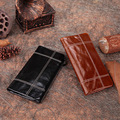 HOT!!! Genuine Cowhide Leather Men Wallet Long Coin Purse Leather Purse Small Vintage Wallet Brand High Quality Vintage Designer