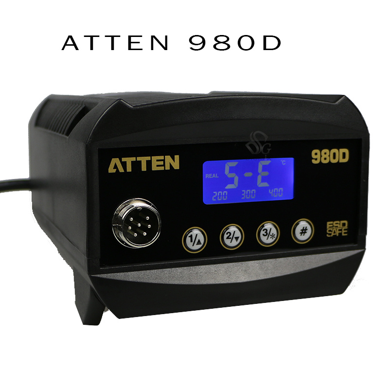 AT980D unleaded iron antistatic thermostatic temperature control Advanced Rework Station 220V 80W  цены